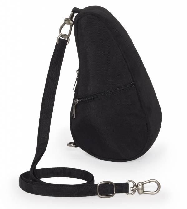 Healthy Back Bag Textured nylon baglett  black 6100