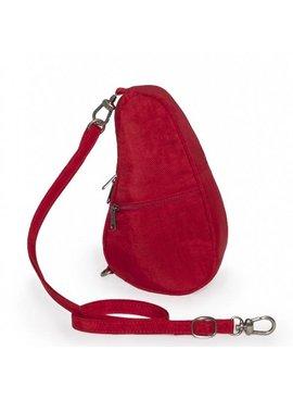Healthy Back Bag Textured nylon baglett Crimson red 6100