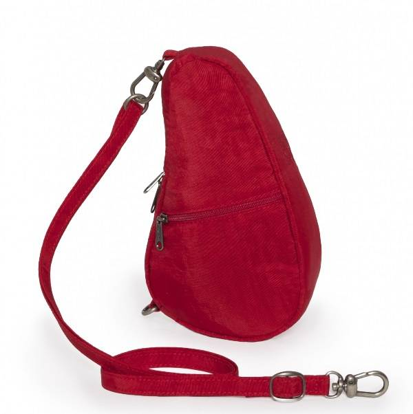 Healthy Back Bag Textured nylon baglett Crimson red 6100