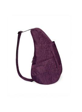Healthy Back Bag Textured Nylon Small Plum 6303