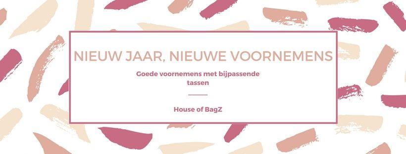 5a800d9ac97 Nieuws - Nieuw jaar, nieuwe voornemens - House of BagZ Bonnier Lederwaren