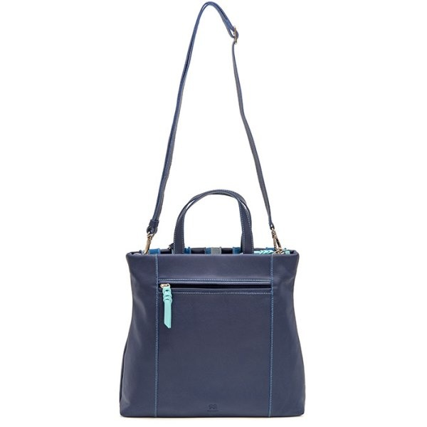 Mywalit Laguna Large Leather and Suede Shopper