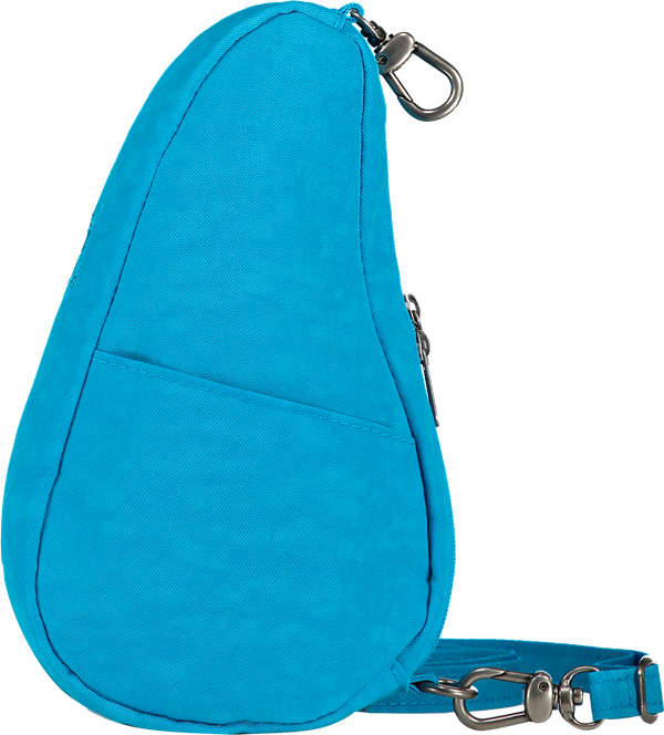 Healthy Back Bag Textured Nylon 6100-AZ  Azure Blue