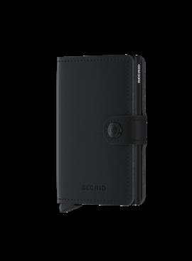 Secrid Miniwallet Veg  Black-Black
