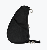Healthy Back Bag Textured Nylon Large Baglett  Black 6100LG-BK
