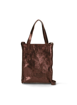 Shabbies Amsterdam leren shopper XS Vegetable Sparkling Leather