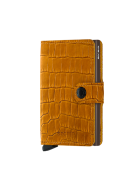 Secrid Miniwallet Cleo -Ochre brown