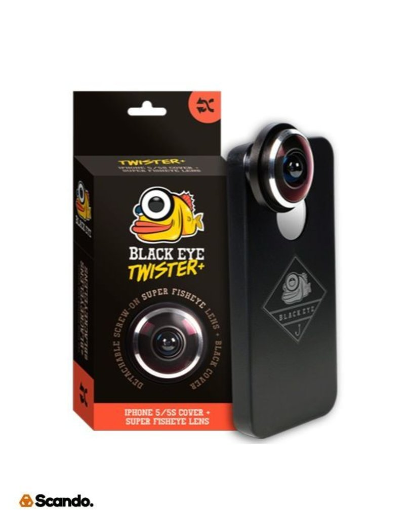 "Black Eye Black Eye ""Twister 5/5S"" 399Kr Fisheye linse"