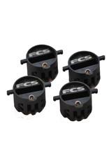 FCS X2 Center Plug Charcoal