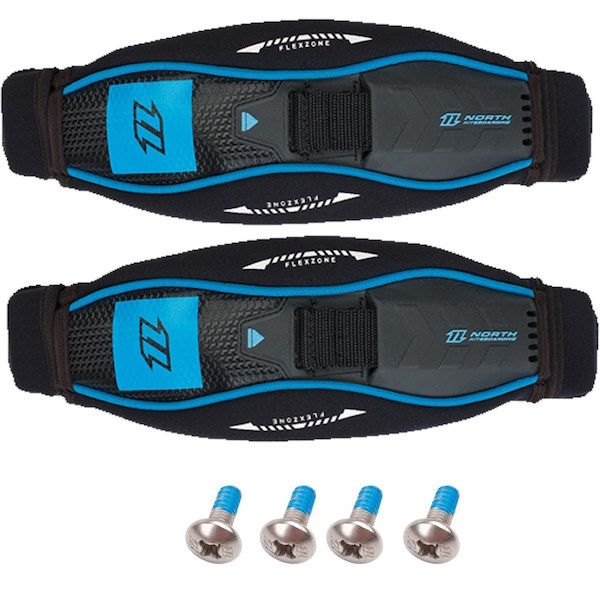 Duotone NKB - Surfstrap with washers and screws (pair) OneSize