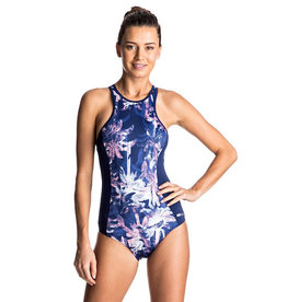 Roxy Roxy - Keep It - Back Zip Swimsuit