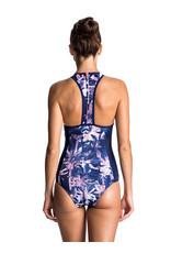Roxy Roxy - Keep It - Back Zip Swimsuit