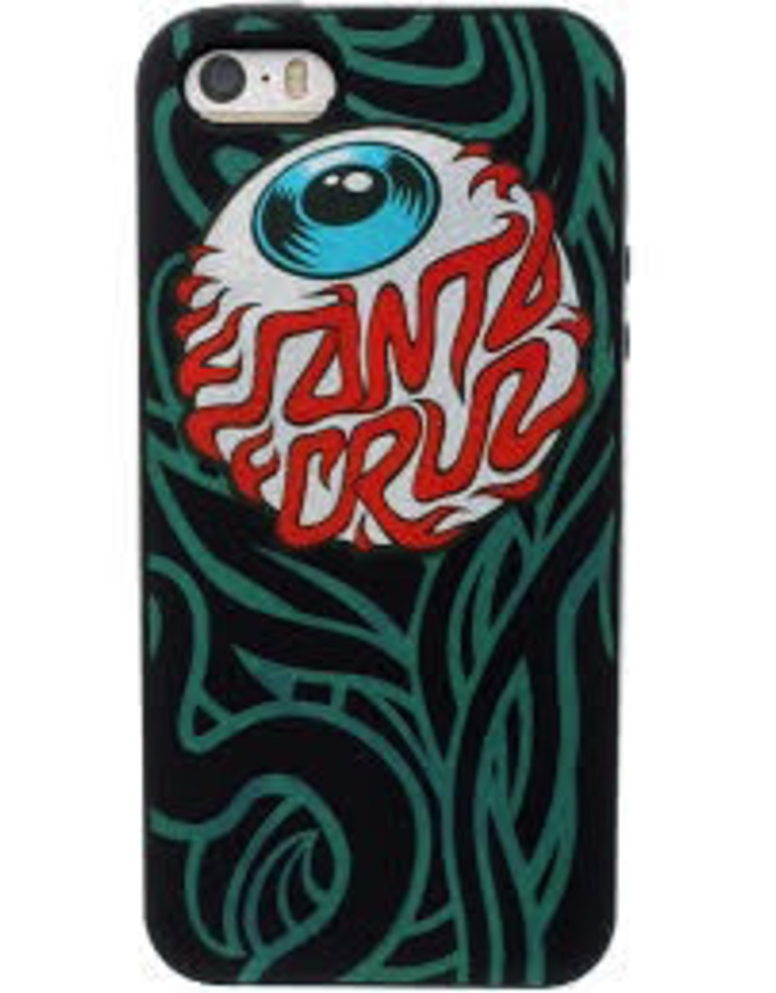 Santa Cruz Santa Cruz Iphone 5 cover Case, Black