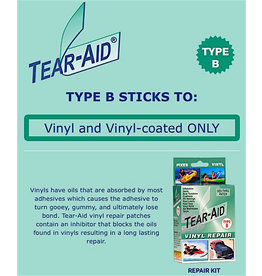 PSP Tear-Aid PVC Type B Reperasjonssett