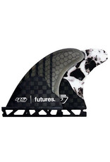 Future Fins Futures - 3Fin HS2 V2 GEN SERIES M,  WHITE MARBLE (65-88kg)