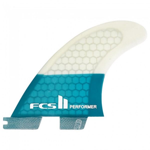 FCS FCS2 - 3Fin - Performer PC Teal (65-80kg)