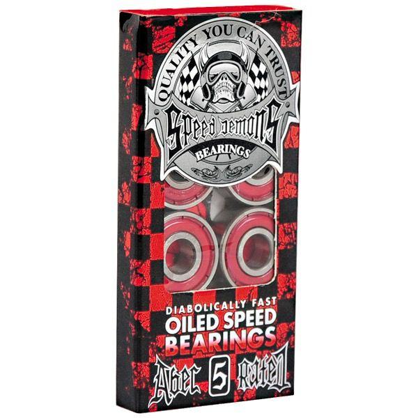 Speed Demons Speed Demons - ABEC 5 - Red