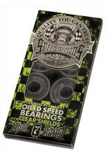 Speed Demons Speed Demons - ABEC 7 - Green (Clear Shields)