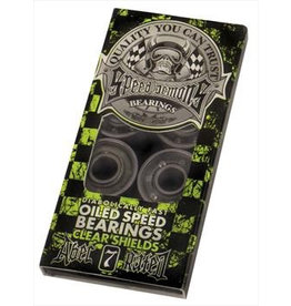 Speed Demons Speed Demons - ABEC 7 - Green (Clear Shields)