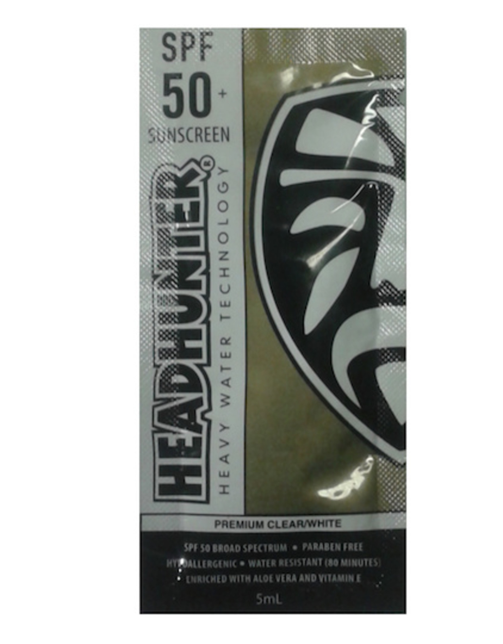 FCS Headhunter - Sunscreen Clear SPF 50 Paraben Free 5mL En gangs poser