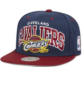 Mitchell & Ness Mitchell & Ness - Team Arch Snap - Clevland Cavaliers