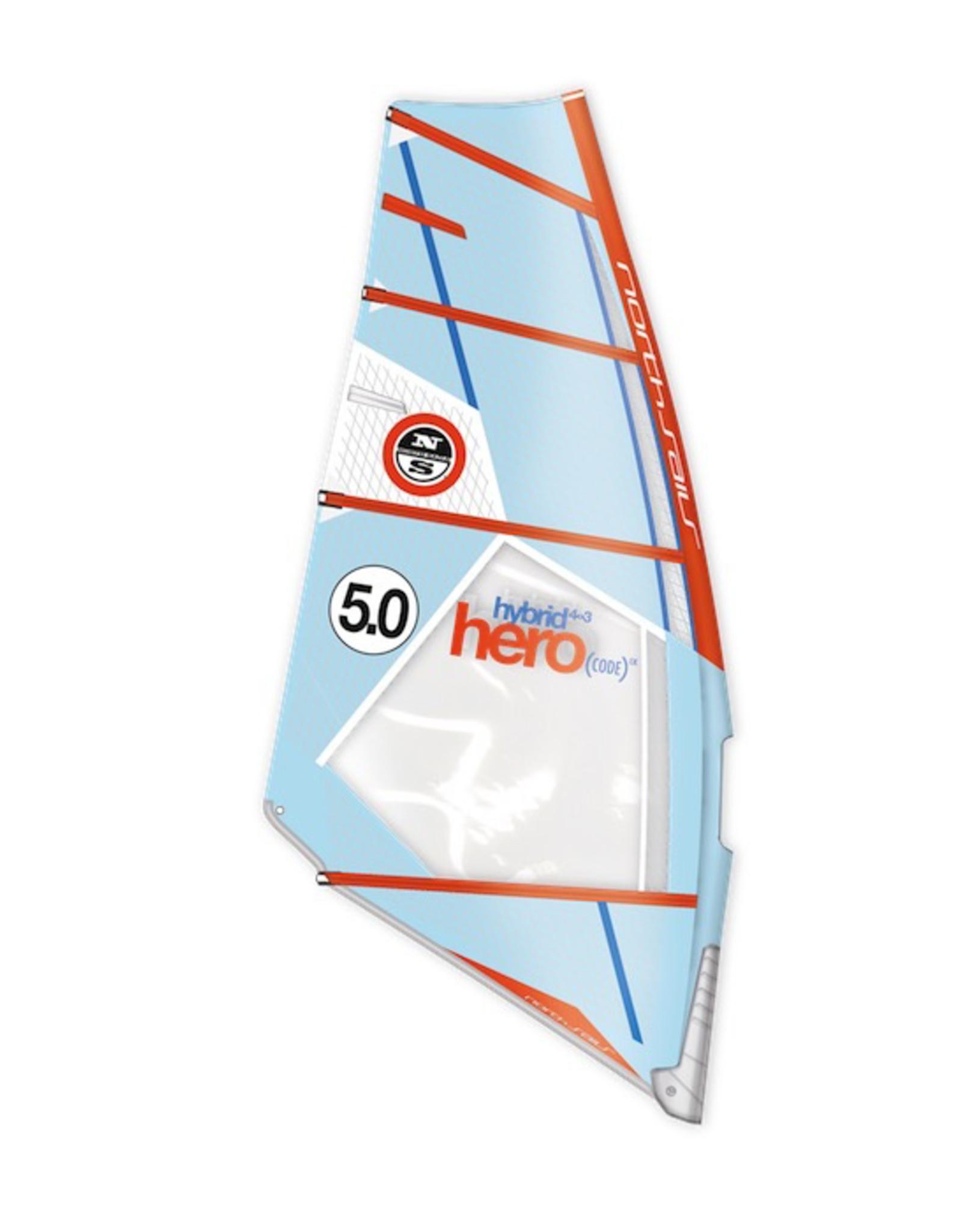 NSW - 4,2m2 Hero Hybrid (CODE) IX C90-light blue-orange