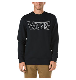 Vans Vans - Classic Crew - Black - White - M