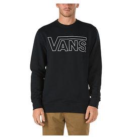 Vans Vans - Classic Crew - Black - White - L