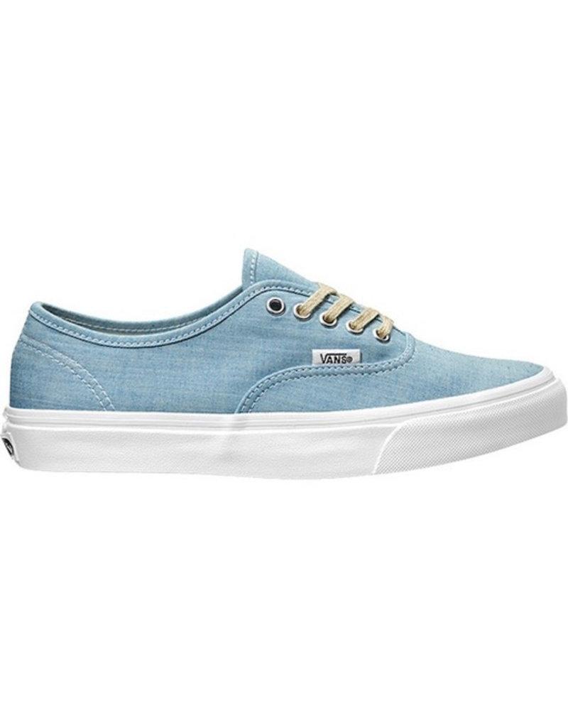 Vans Vans - Authentic Slim, (Chambray) Blue/True White, 40-25,5cm-7,5