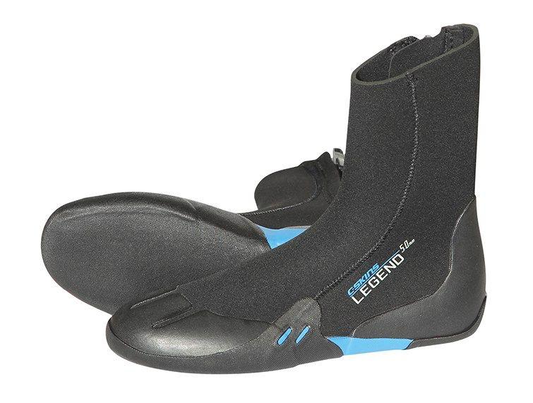 C-Skins C-SKINS - 3.5mm - Junior Legend Zip Boot, Black, S/EU25-26