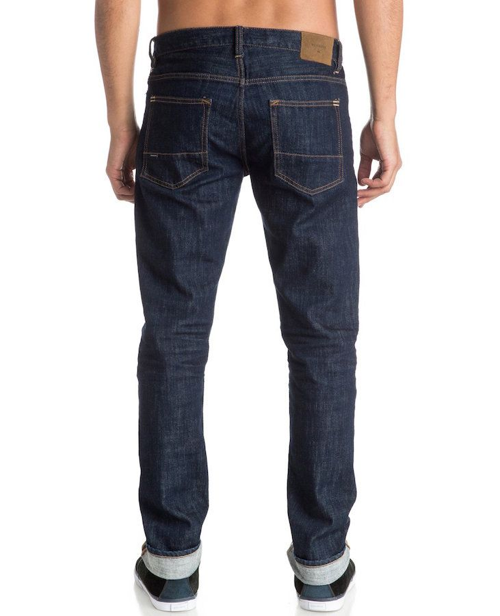 Quiksilver Quiksilver - Distortion Rinse Slim Jeans  - BSNW - 30x32