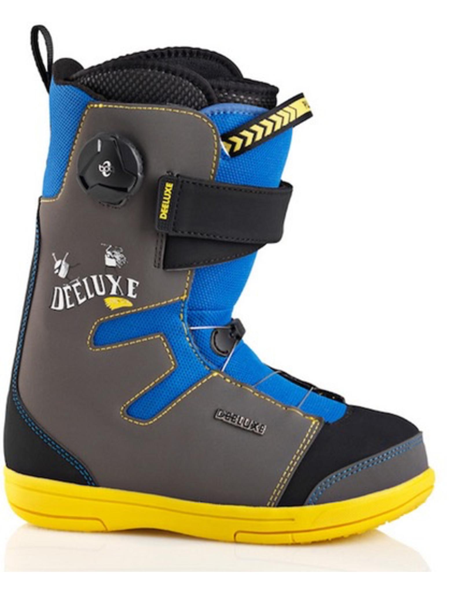 Deeluxe Deeluxe - Junior (C3), Blu/Yel, 38,5-245-6,5