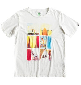 Quiksilver Quiksilver - Nomad Organic Tee Youth L10, Marshmellow, 16