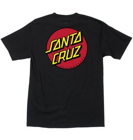 Santa Cruz Santa Cruz - Classic Dot Tee - Black - M/50