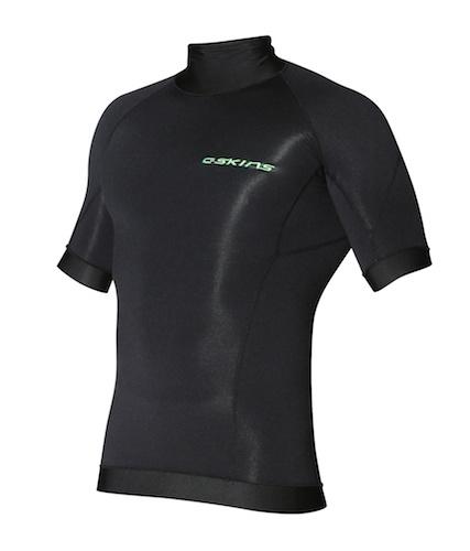 C-SKINS - Hdi Short Sleeve Mens Skins-BLACK, L/52
