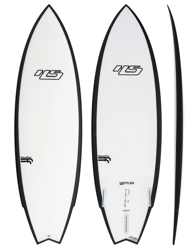 Hayden 6'5 HS Untitled FF Clear 40,14L +-90kg