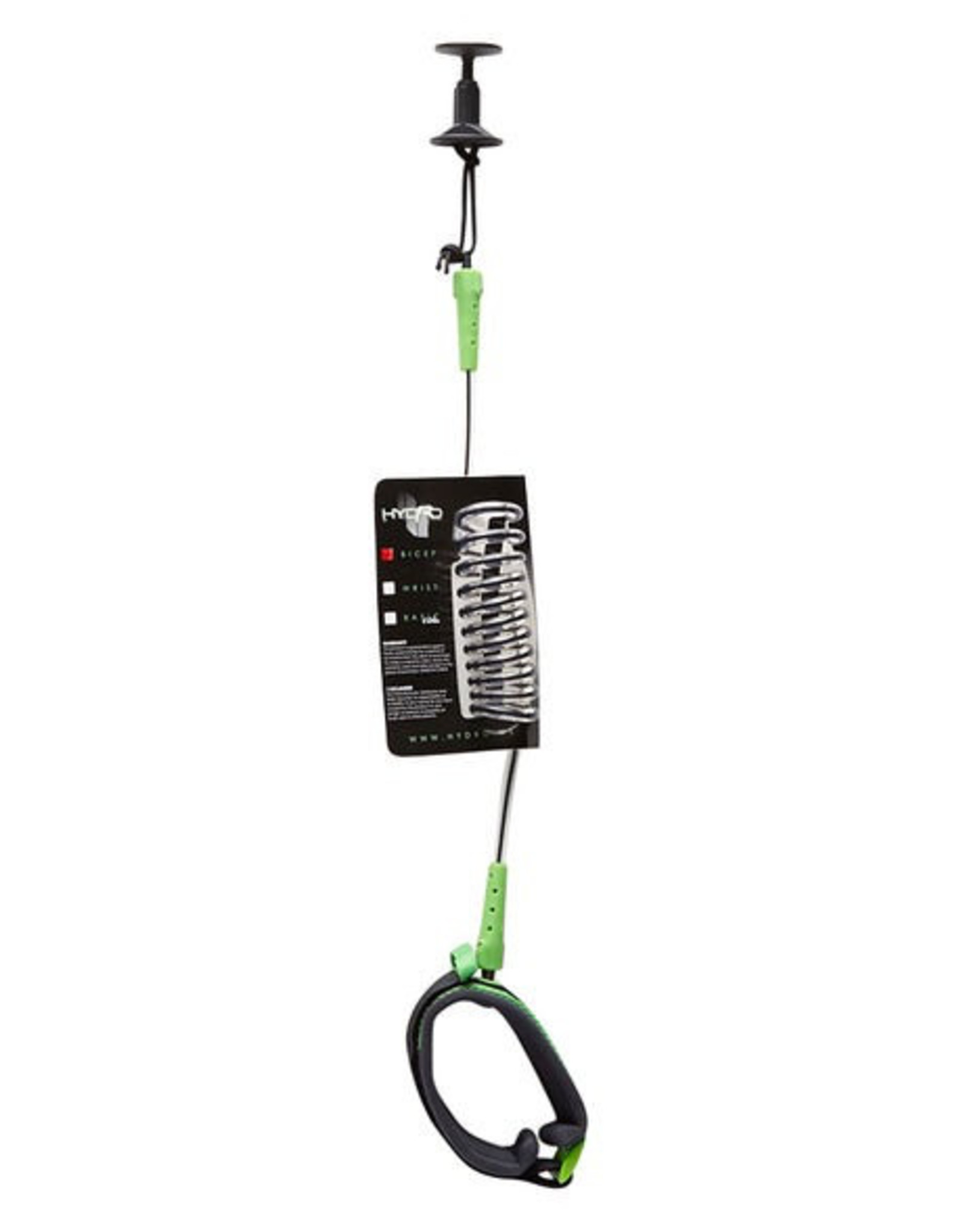 Hydro Hydro - Bodyboard Bicep Leash Charcoal/Green