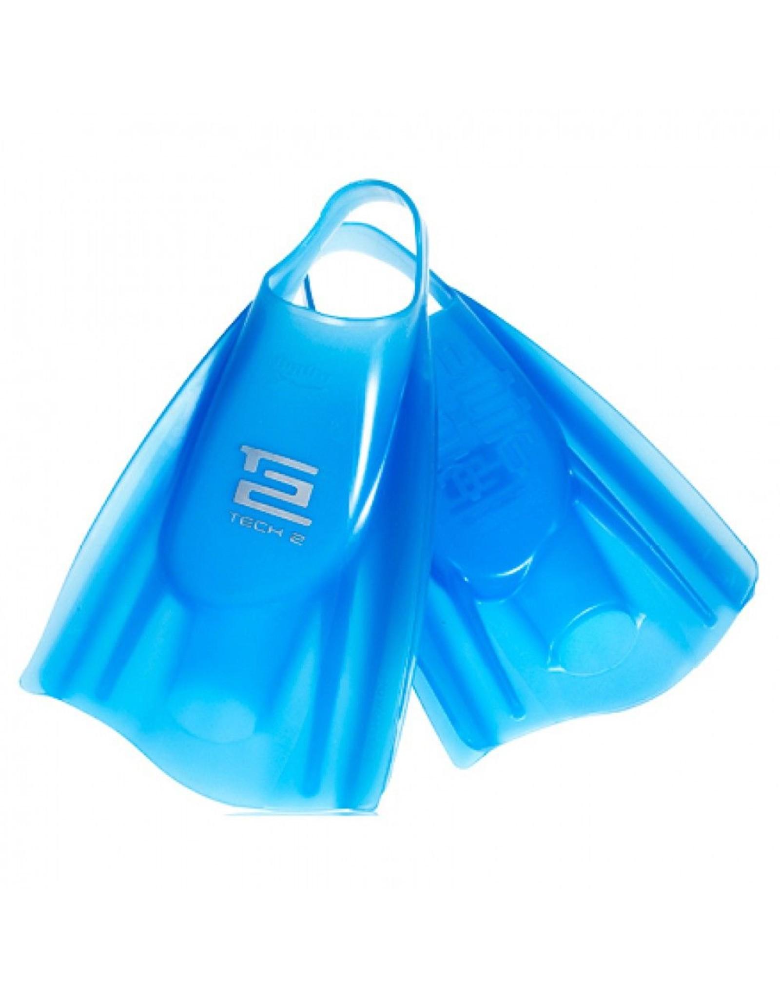 Hydro Hydro - Tech 2 Swim Fin Ice Blue - M/L (9-10)