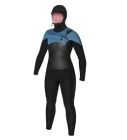 C-Skins C-Skins - 6/5mm - Ladies Wired Dryknit Hooded US12