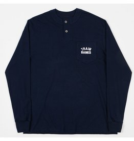 Polar Polar - Train Banks Henley - Navy - XL
