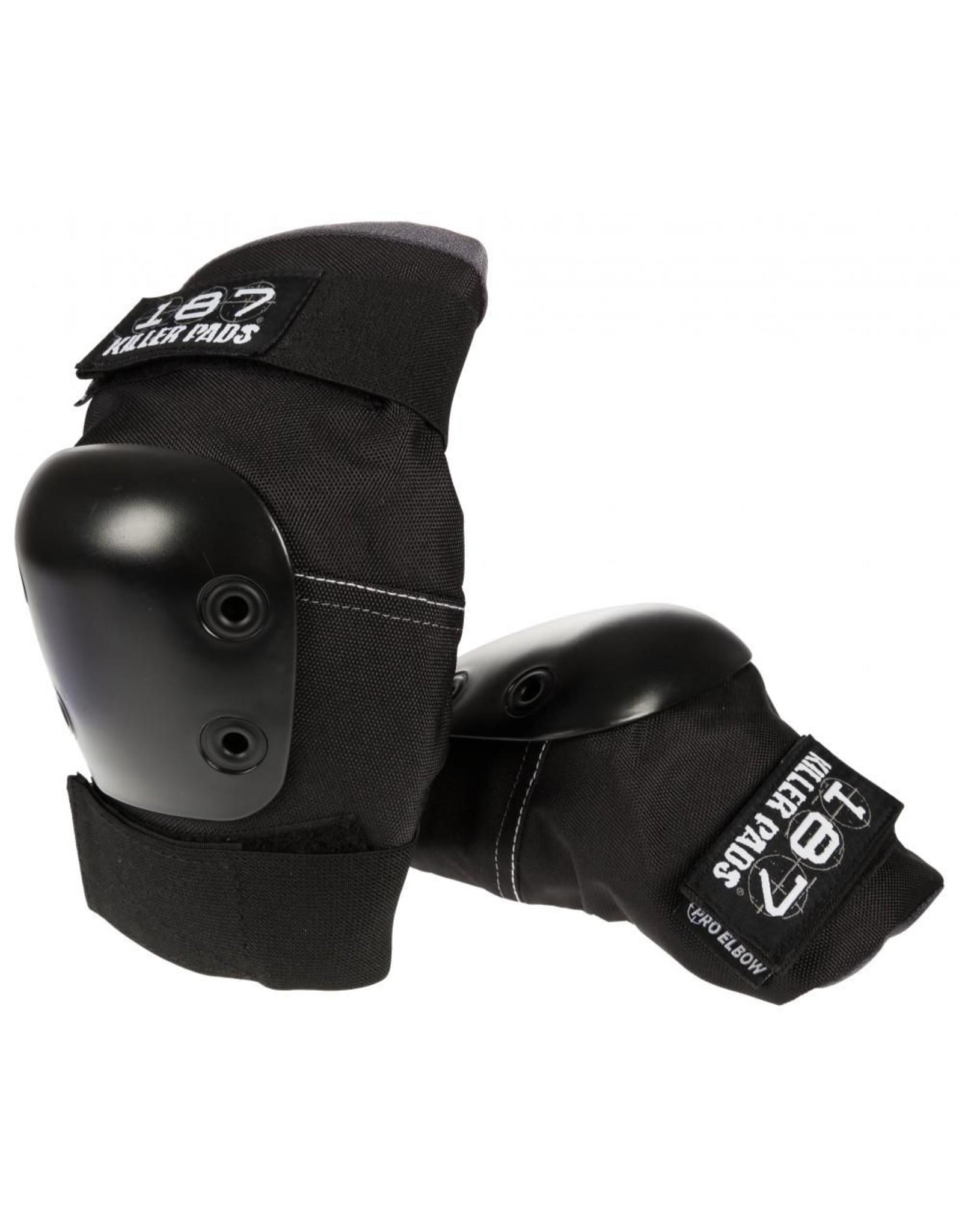 187 187 - Killer Pads Pro Elbow - Black - S