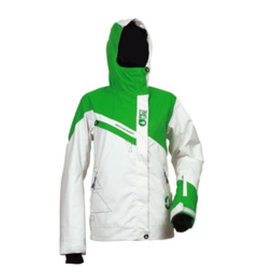 Picture Picture, Iris Jacket, White/Green, Str, S