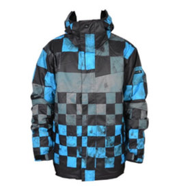 Quiksilver Quiksilver - Next Mission Jacket (Junior), Snow Black, 10