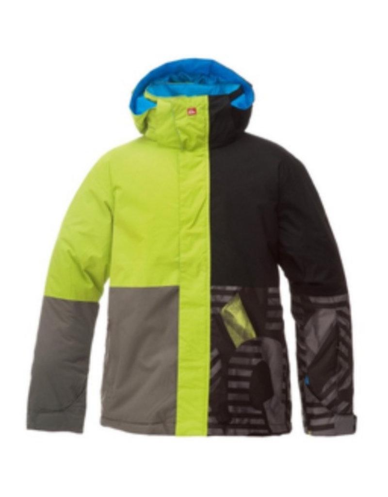 Quiksilver Quiksilver - Quarter Jacket Youth, Black, Str, 10
