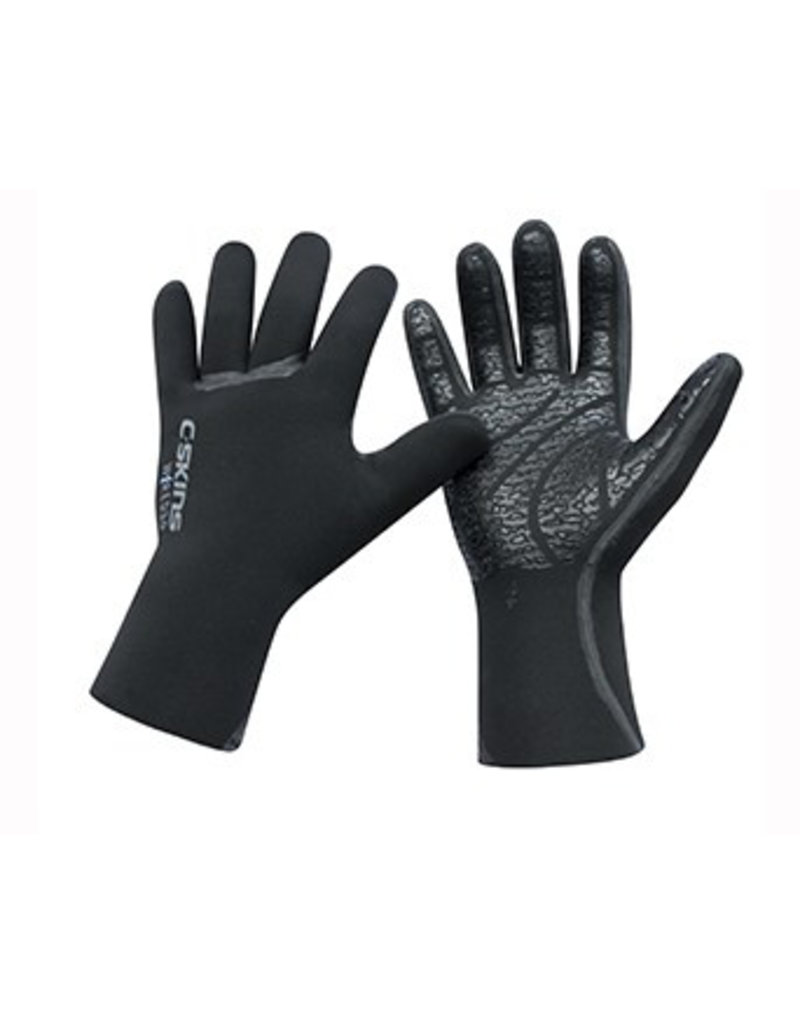 C-Skins C-Skins - 5mm Wired Glove - Black - 4XS