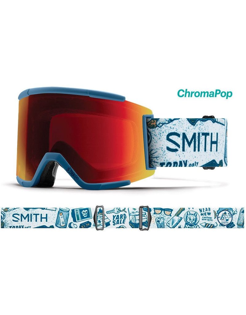 Smith Smith - Squad XL - Kindred - Chromapop - Sun Red