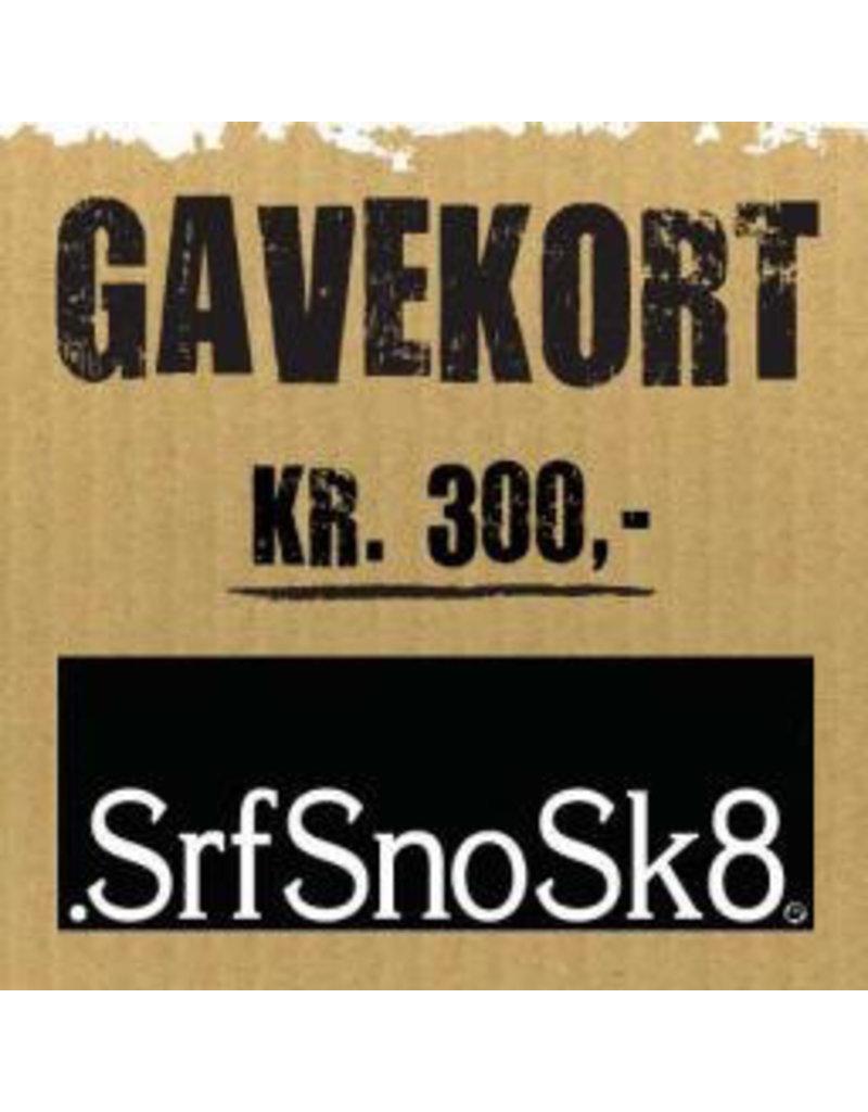 Gift Card Gavekort SrfSnoSk8 kr. 200,-