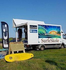 Surfeskole - 2 timers kurs - Gavekort