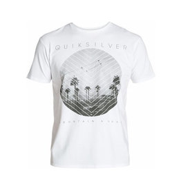 Quiksilver Quiksilver - SS Carbon Tee - N5, White, S