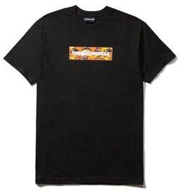 The Hundreds The Hundreds - Camo Bar T-shirt - BLK - L